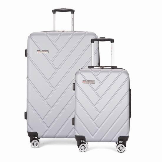 Air Canada ORBIT 时尚拉杆行李箱2件套(20/28寸)2.5折 118.99加元包邮!3色可选!