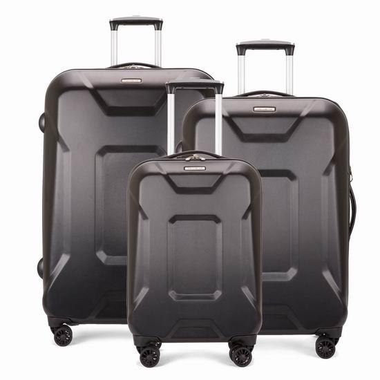 独家:Samsonite 新秀丽 COMPL-X 21/24/28寸 硬壳拉杆行李箱2件套2.4折 89.59-107.99加元起包邮!2色可选!