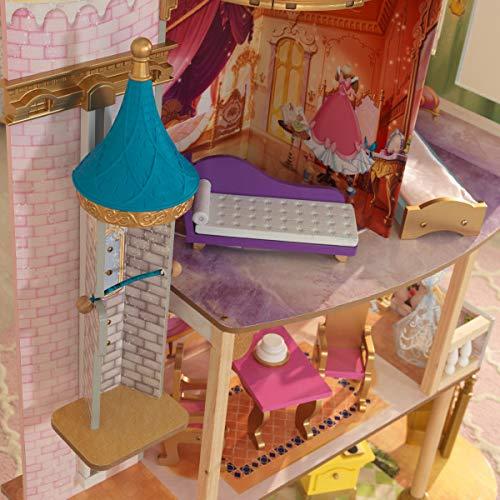 历史新低!KidKraft 65962 迪士尼公主 皇家庆典 超大型玩具娃娃屋 153.61加元包邮!Walmart同款224.97加元!