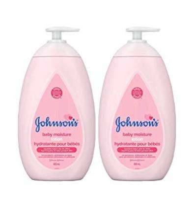 Johnson's 强生婴儿保湿沐浴露2x800毫升 16.12加元,原价 27.14加元