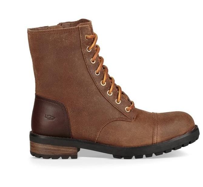 UGG Kilmer 女款防水皮靴 109.69加元(2色),原价 195加元,包邮
