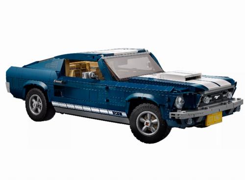 新款上市!LEGO 乐高 10265 Ford Mustang 福特野马(1470pcs) 199.99加元包邮!