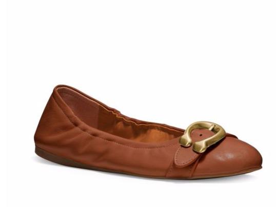 Coach Stanton 芭蕾舞鞋 64.6加元(6码),原价 190加元