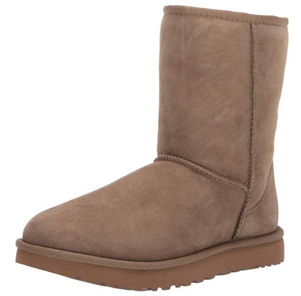 UGG W Classic Short II雪地靴 159.99加元(6码),原价 194.99加元,包邮