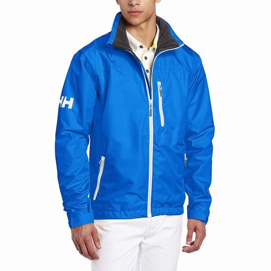 白菜价!Helly Hansen Crew Midlayer 防风雨 男式夹克 2.9折 58.78加元起包邮!
