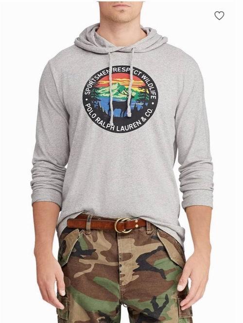 精选 Polo Ralph Lauren男士T恤、套头衫、羽绒服 4折起,40加元入Polo 衫!