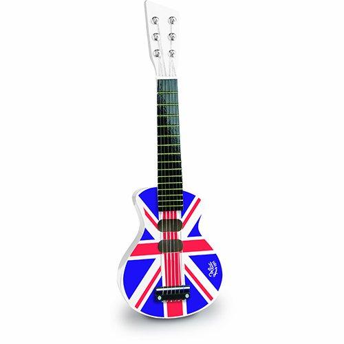 白菜价!历史新低!Vilac Union Jack Rock n Roll 儿童吉他2.2折 11.01加元清仓!