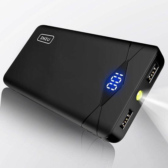 INIU 10000mAh 超便携移动电源/充电宝 17.99加元!
