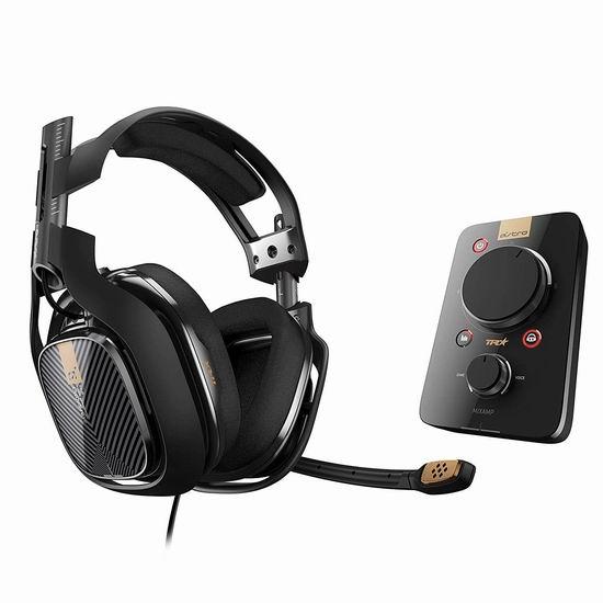 金盒头条:罗技 ASTRO A40 TR 高端游戏耳机 + MixAmp Pro TR 音频控制器套装6.7折 222.99加元包邮!Xbox One/Windows版、PS4版可选!