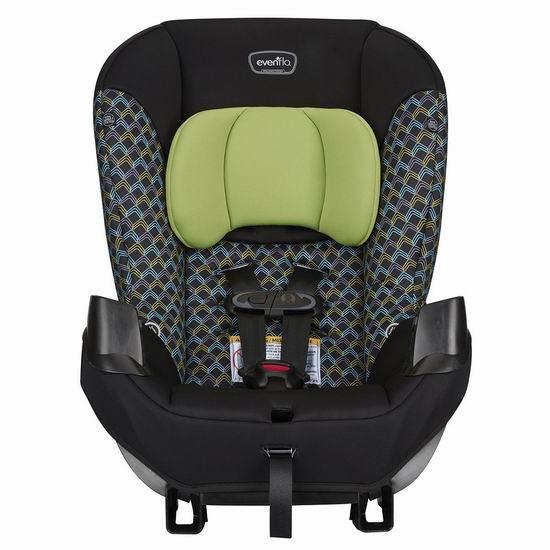 历史新低!Evenflo 34712143C Sonus 成长型儿童汽车安全座椅 71.98加元包邮!