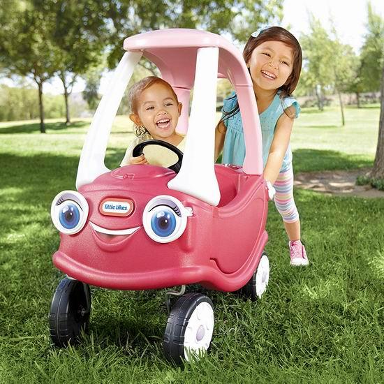 历史最低价!Little Tikes 小泰克 Cozy 公主 滑步小车4.1折 49.97加元包邮!