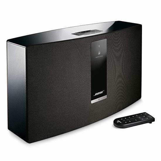 历史最低价!Bose SoundTouch 20 无线音乐系统 359加元包邮!2色可选!支持Alexa!