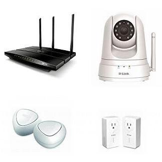 金盒头条:精选多款 TP-Link、Netgear、D-Link 无线路由器、WiFi信号扩展器、无线网卡、电力猫、无线监控摄像头、交换机等6折起!
