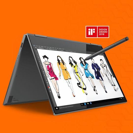 极致轻薄!Lenovo 联想 Yoga 730 13.3英寸 超轻薄 二合一触控笔记本电脑(8GB, 256GB SSD) 837.19加元包邮!