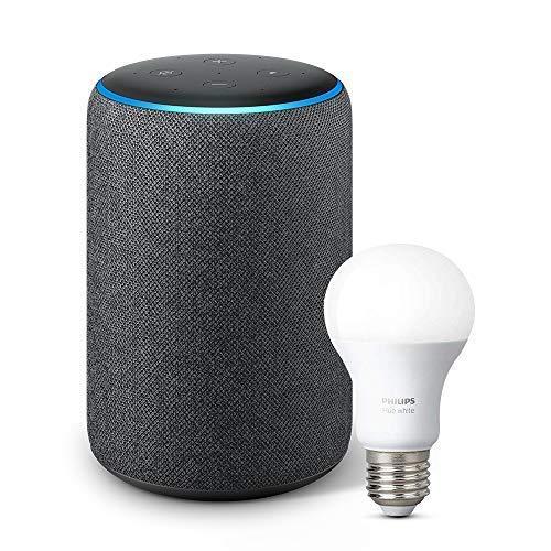全新 Echo Plus 亚马逊第二代智能家居语音机器人 159.99加元包邮+送价值19.98加元智能灯泡!3色可选!内置智能家居控制中心!