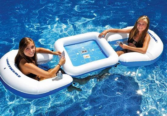 白菜价!历史新低!Solstice 水上充气座椅+防水扑克套装1.1折 8.38加元清仓!