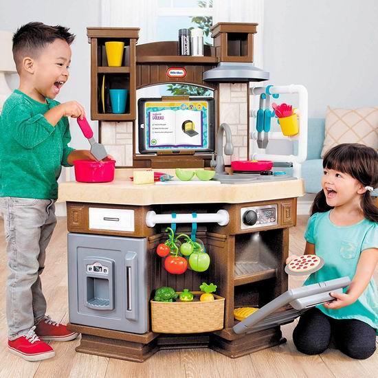 售价大降!历史新低!Little Tikes 小泰克 Cook n Learn 儿童过家家 智能互动厨房3.8折 75加元清仓并包邮!会员专享!