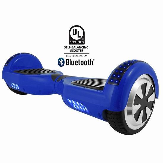 历史新低!HOVERBIRD HBIRD-BLU Z1++ 电动双轮平衡车4.7折 236.82加元包邮!