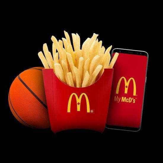 McDonald's 麦当劳 3月4日免费送薯条!仅限安省!