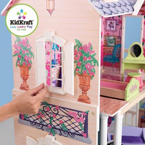 KidKraft My Dreamy 大型梦幻玩具娃娃屋 177.8加元包邮!
