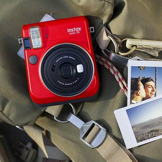 历史新低!Fujifilm 富士 Instax Mini 70 拍立得相机5.1折 86.69加元包邮!2色可选!