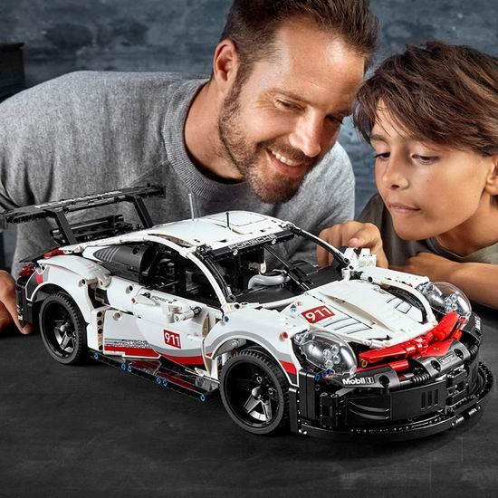 LEGO 乐高 42096 机械组 Porsche 保时捷 911 RSR赛车(1580pcs) 158.99加元包邮!