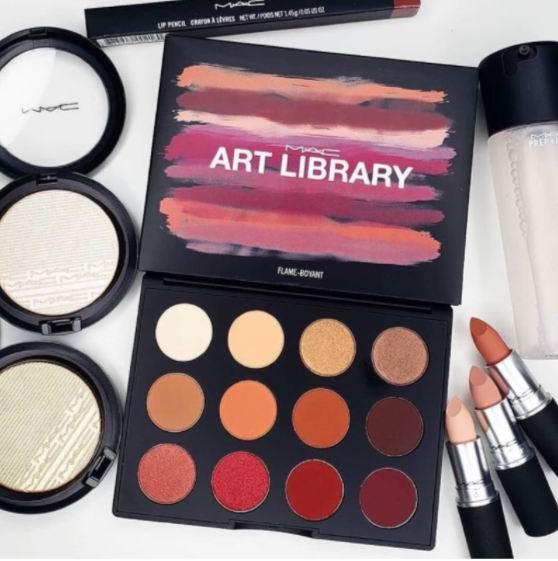 MAC魅可2019 Art Library艺术博物馆系列眼影盘及唇膏 9折优惠!