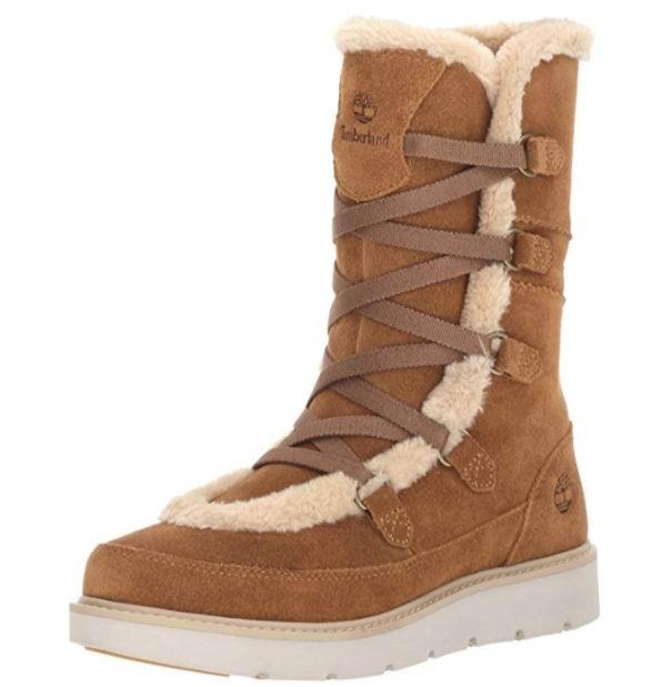 Timberland 添柏岚 Kenniston女士雪地靴 87.36加元(9码),原价 296.04加元,包邮