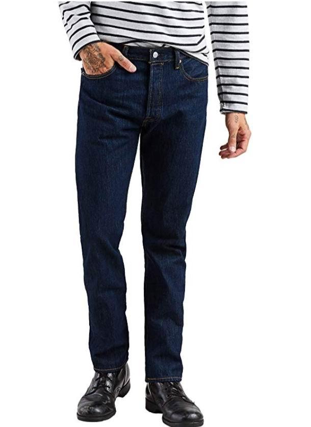 码齐!Levi's李维斯 501男士经典牛仔裤 39.99加元,原价 79加元,包邮