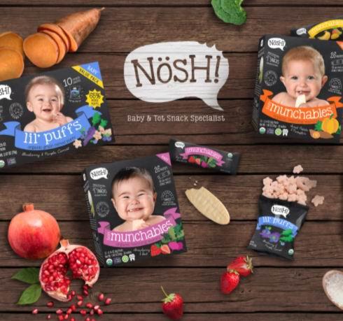 风靡美国的有机零食品牌!精选 Nosh 宝宝零食 8.5折优惠!