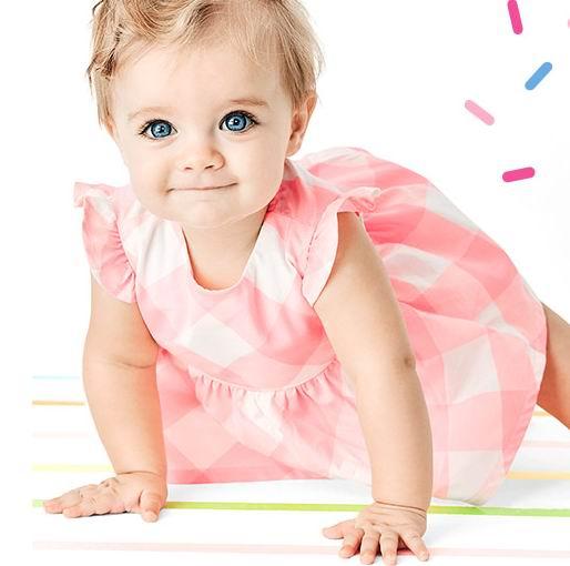 Carters精选女宝宝裙装、牛仔裤、睡衣 、套装 7折,折后低至 8.4加元!