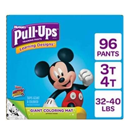 Pull Ups Easy Open 男女宝宝训练尿不湿底裤 30.37加元(会员价 25.58加元),原价 37.97加元