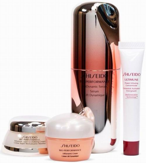 Shiseido资生堂 Bio-Performance 百优面霜+多效塑形精华素 4件套 117加元(价值 182加元),