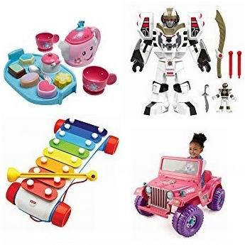 金盒头条:精选多款 Fisher Price 费雪儿童玩具5.6折起!