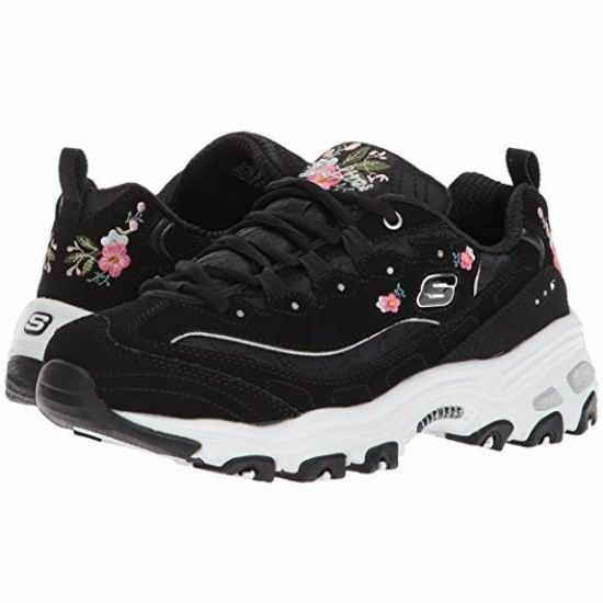Skechers D'Lites-Bright Blossoms 女式熊猫鞋(7码)5.4折 48.71加元包邮!