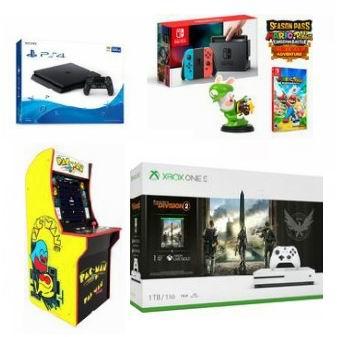 Walmart游戏大促!精选多款 PS4、Nintendo Switch、Xbox One 游戏机、视频游戏、游戏手柄、耳机等特价销售!