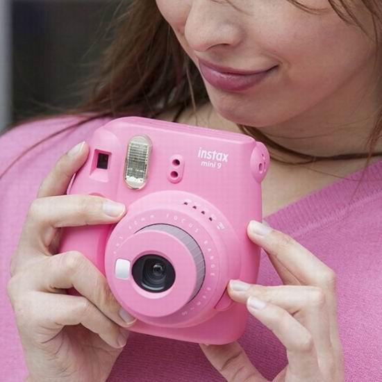 金盒头条:历史新低!翻新 Fujifilm Instax Mini 9 拍立得相机 59.95加元包邮!4色可选!
