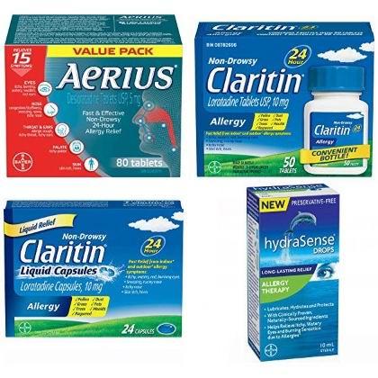 金盒头条:精选 Claritin、Aerius、hydraSense 等品牌抗过敏药6折起!