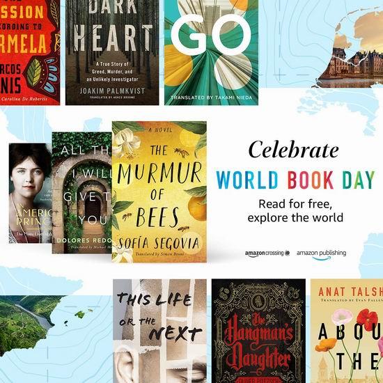 世界读书日!精选8本Kindle电子书限时免费购买!