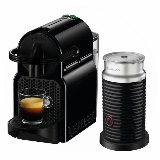白菜价!Nespresso Inissia 胶囊咖啡机+奶泡机套装3.6折 89.99加元包邮!送价值20加元咖啡胶囊券!