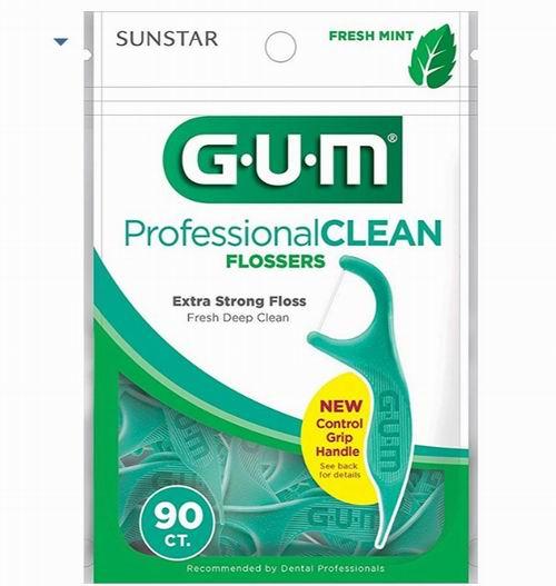 Gum 专业牙线90个装 2.97加元