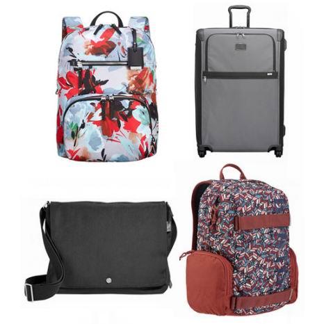 精选 Tumi、Frye、Swissgear、Parkland 等品牌行李箱、背包、挎包、钱包等清仓销售+额外6折!