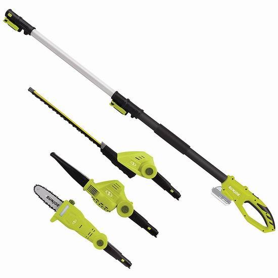 Sun Joe GTS4001C 植物养护 24伏 无绳庭院电动工具3件套5折 99.5加元包邮!