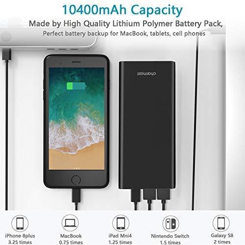 白菜价!历史新低!Charmast 10400mAh / 20800mAh USB C 便携式移动电源/充电宝3.5折 14.99-24.49加元包邮!免税!4色可选!