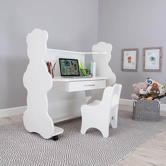 超级白菜!Ace Baby Furniture 高度可调 可移动 儿童书桌+椅子套装1.1折 84.37加元包邮!