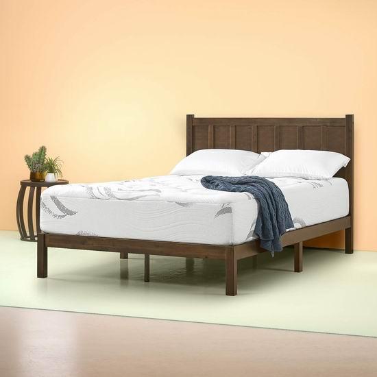 精选多款 Zinus 床垫、床架、床盒、电视柜等4.3折起!