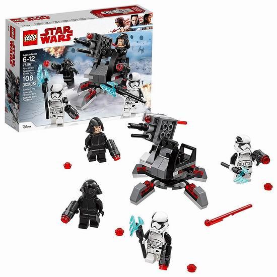 LEGO 乐高 75197 星球大战 专家级战斗套装(108pcs)7折 11.87加元