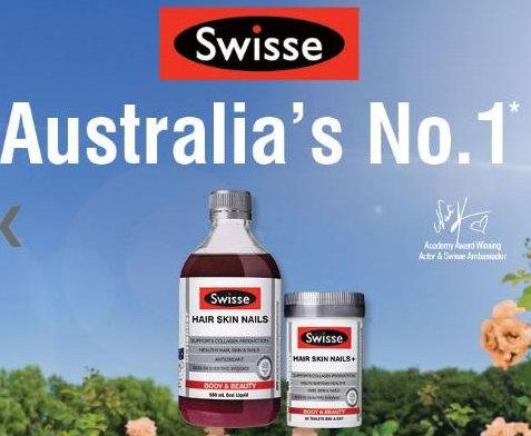 Swisse澳大利亚著名保健品 8折优惠!内有明星产品介绍!