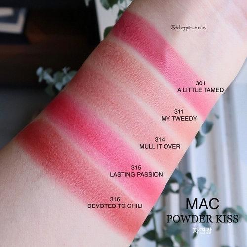 MAC power kiss 哑光唇膏 19.55加元(23加元)!入泫雅色超美姨妈色口红!