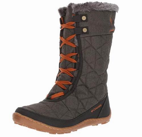 Columbia Minx女士保暖雪地靴 54.01加元(5码),原价 157.02加元,包邮